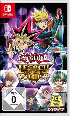 Yu Gi Oh! Legacy of the Duelist NX / SWITCH / Neu & OVP / Sofort Lieferbar!