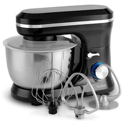Food Cake Mixer Black 4.5L Stainless Steel Mixing Bowl Sale Gift Cheap 1000W New