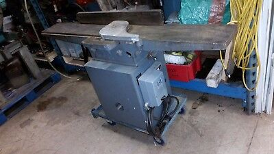 "Rockwell Delta 37-315 8"" Woodworking Jointer 3 Phase"