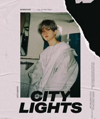 EXO BAEKHYUN: City Lights* 1st Mini Album CD+ Full Package Poster (SM) K-POP