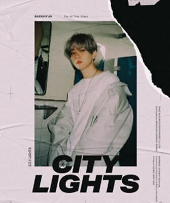 EXO BAEKHYUN: City Lights* 1st Mini Album Full Package Poster (SM) K-POP