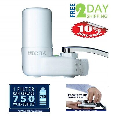 Water Faucet Filtration System Filter Change Reminder Tap Watering Lead Reducer