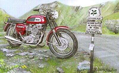 1969 BSA Rocket Three Metal Sign 3 Sizes To Choose:Mancave Garage Shed Home Decor Plaques & Signs