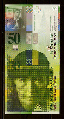 Switzerland 50 Francs. 2004, UNC