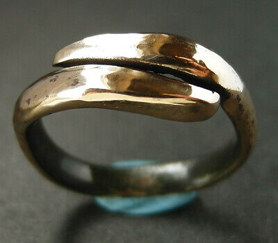 A  genuine ancient Viking bronze ring. Found nr Scarborough