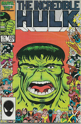 INCREDIBLE HULK (1968) #325 - Back Issue (S)
