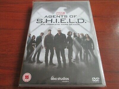 Marvel's Agents Of SHIELD - Series 3 [DVD BOX SET]  NEW AND SEALED REGION 2 UK