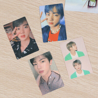 Kpop BTS Map of The Soul: Persona Paper Photo Poster Card Personal JIN 4pcs/set