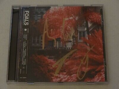 Foals - Everything Not Saved Will Be Lost Part 1 Signed 10 Track Cd Album New