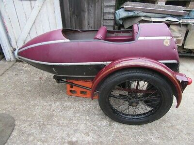 Sidecar project double child with New Avon Triple duty sidecar 3.50-19  tyre