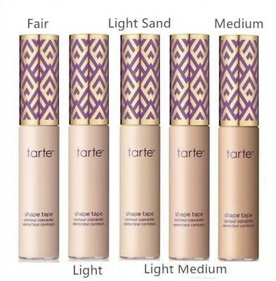 Tarte Shape Tape Double Duty Beauty Contour Concealer 10ml (Choose Any 5 Shades)