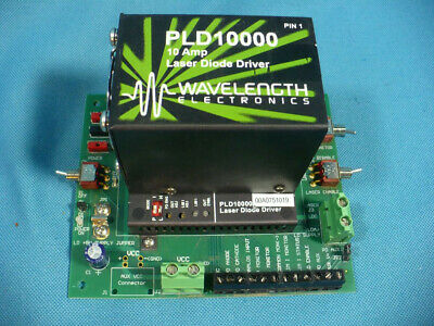Wavelength Electronics PLD10000 Laser Diode Driver 10A PCB Mount with PLD10EV