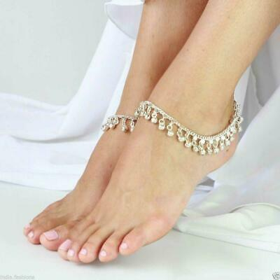 Dance Belly Charm Ankle Bracelet Bell Chain Silver Gold Anklet Gypsy foot Indian