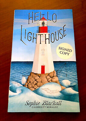 Rare SIGNED 1st/1st Sophie Blackall HELLO LIGHTHOUSE 2019 CALDECOTT WINNER