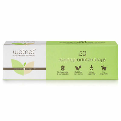 Wotnot Biodegradable Nappy Bags 3 X 50 Ppack