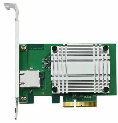 10GBE Network Ethernet Card 10G PCIe x4 FH/LP SERVER NIC RJ45 CAT6/CAT6A Copper