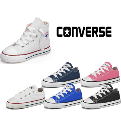 Converse Sneakers Kids Child Canvas Shoes Low Hi Top Shoes All Star Shoes