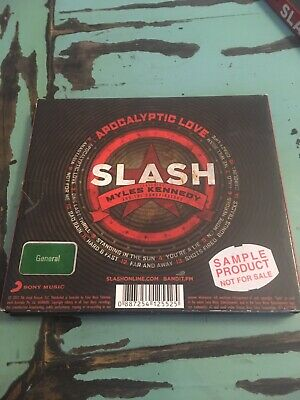 Slash Apocalyptic Love Deluxe Edition CD/DVD Guns N Roses