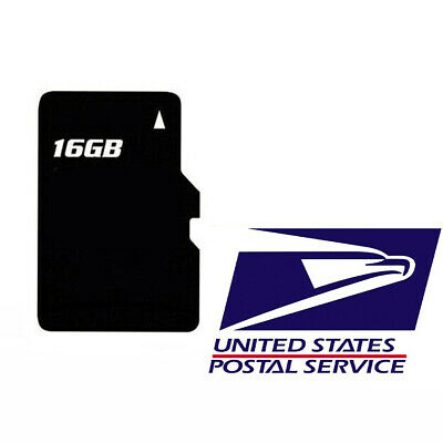 2019 NEW 16GB Map Software SD Card For Android Car GPS Radio USA
