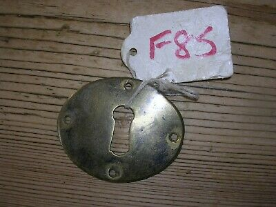 Antique Brass  Escutcheon (F85)