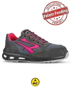 Scarpa Antinfortunistica Bassa Verok Da Donna S1P U.power Redlion + Buono Sconto