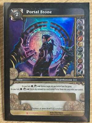 World of Warcraft TCG Portal Stone Unscratched Loot Card WoW Ethereal Portal