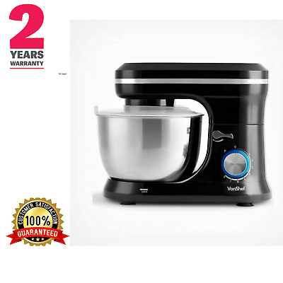 Black Stand Cake Breads Puddings Mixer Stainless Steel Dough Hook beater  4.5 L