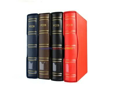 Stamp Album Binder & Slipcase (4 Colour) For Lighthouse Stamp Stock Pages Sheets