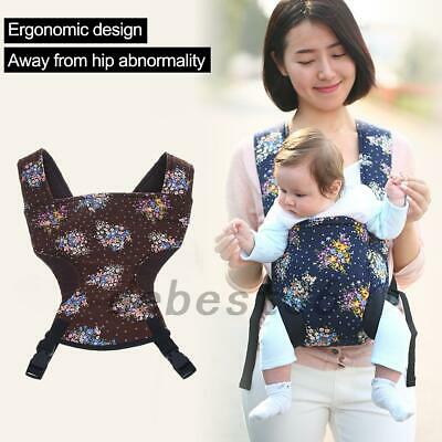 0-2 Years Flower Convertible Baby Carrier Infant Wrap Sling Newborn Backpack Hot