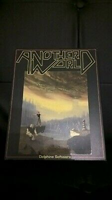 Atari St :Another World !! Complet En Boite !!