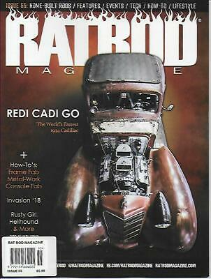 RAT ROD Magazine; No.55 J/Aug.19 (NEW) *Post included to UK/Europe/USA/Canada