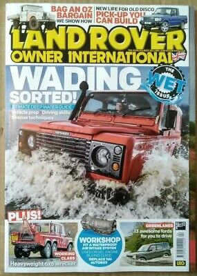 Land Rover Owner International Magazine April 2019
