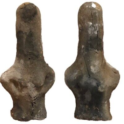 Ultra Rare Huge Stone Age Ancient Neolithic Anthromorphic Vinca Idol 4500BC (4)