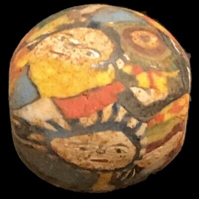 Very Rare Phoenician Face Bead 300Bc Super Quality (Large Size) (3)
