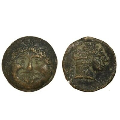 Ancient Indo-Greek Unresearched Coin,  171-135Bc. (5)