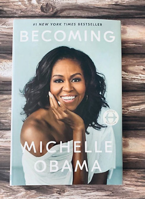 SEALED !! Becoming by Michelle Obama Hardcover isbn-9781524763138 FREESHIPPING