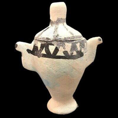 Very Rare Large Ancient Egyptian Storage Jar Vessel Late Period 664 - 332 Bc (7)