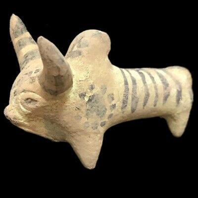 INDUS VALLEY VOTIVE BULL, RARE ANCIENT ARTIFACT, 3rd Millennium BC (1)
