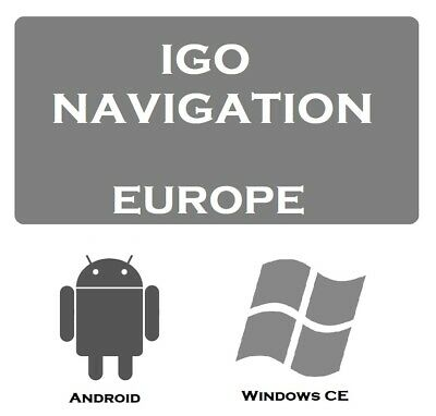 iGO Navigation with Europe Map 2019 For devices Windows CE & Android (BY LINK)