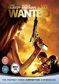 Wanted [Blu-ray][Region Free], DVDs