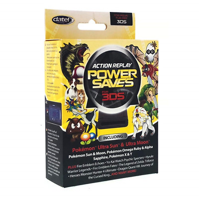 Datel Action Replay Power Saves Nintendo 2DS / 3DS XL / 3DS