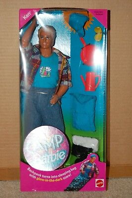 Camp Barbie KEN - 1993 - barbie - Mattel #11075 - NRFB