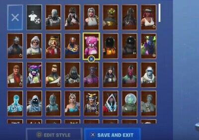 Release 200x Stacked Fortnite Accounts Vbucks Skins Free