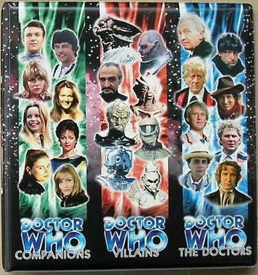 Dr Doctor Who Trilogy Trading Card Binder from Strictly Ink