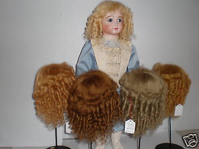 Wig Mohair for Doll -doll Wig -t8 (31,5cm) Made in France