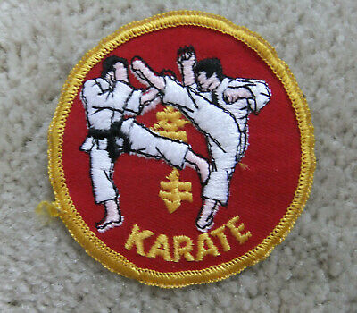 "NEW Karate Patch for Karate Gi Uniform Karate Break Patch Martial Arts-5/""x5/"""