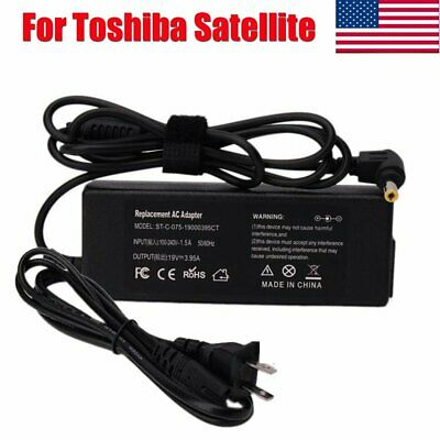 AC Adapter Power Charger for Toshiba Satellite A205 A105-S101x 1100-S101 M40X US