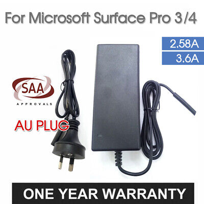Power Supply Charger AC Adapter Charger For Microsoft Surface Pro 3/4 2.58A/3.6A