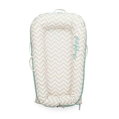 Sleepyhead Deluxe + Pod 0-8 Months SPARE COVER , Silver Lining Chevron
