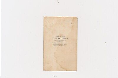 CDV Mrs. W.A. Reed Woman Photographer Quincy Illinois